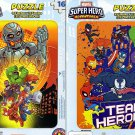 Marvel Super Hero Adventures - 16 Pieces Jigsaw Puzzle - (Set of 2 Puzzles) v2
