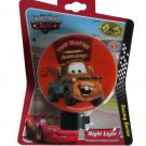 Disney Cars Movie Towmater Race Car Night Light Nightlight