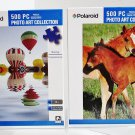 2 Polaroid Art Collection 500 Piece Jigsaw Puzzles Pony Friends Balloons Rising