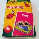 "Crayola ""Rhyming"" Flash Cards (36 flash cards) ages 4+ years"