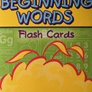 Sesame Street Beginning Words Flash Cards by Sesame Street
