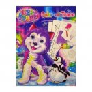 Lisa Frank Color and Trace Fun Drawing Coloring Activity Book