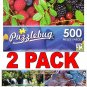 Luscious Summer Berries - 500 Piece Jigsaw Puzzle  + Bonus 2017 Magnetic Calendar