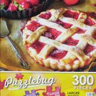 PuzzleBug 300 Piece Puzzle ~ Strawberry Sweet Tart - New Larger Pieces