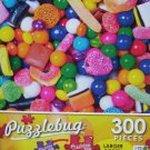PuzzleBug 300 Piece Puzzle ~ Colorful Candy Mix - New Larger Pieces