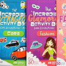 Glamorous Activity Books with Games, Stickers, Puzzles & More
