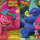 Dreamworks Trolls - Jumbo Coloring and Activity Book [Set of 2 Books] - v2