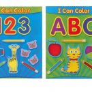 Coloring Books for Kids. Set of 2