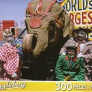 Puzzlebug 300 Piece Puzzle ~ Three Circus Clowns and Elephant by Puzzlebug
