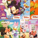 Disney Minnie and Mickey Mouse Clubhouse Coloring and Activity Booklets -  (2-Pack)