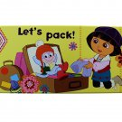 Let's Pack Dora the Explorer Tin Box - Dora the Explorer Tin Pencil Box