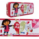 We Made It Dora the Explorer Tin Box - Dora the Explorer Tin Pencil Box