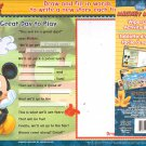 Disney Junior Wipe-Clean Activity Board Mickey Mouse Draw & Fill in the Words & Color Find