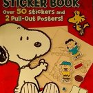 PEANUTS Sticker Book With Posters (New) by Bendon