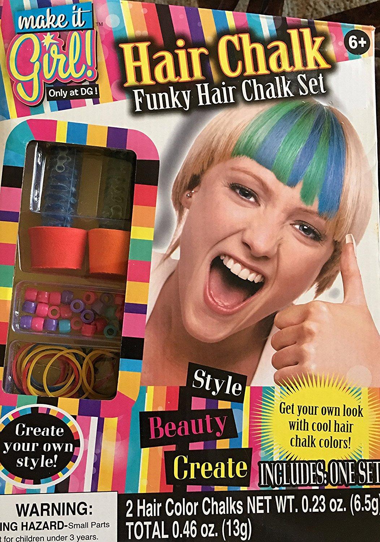 Hair Chalk Funky Hair Chalk Set by Kids Stuff