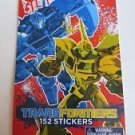 Transformers 152 Stickers by Hasbro