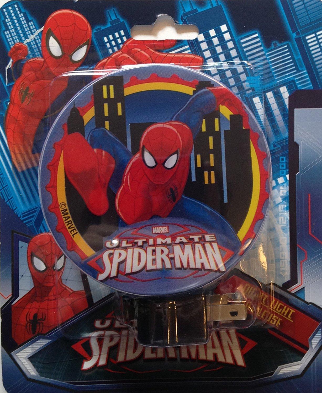 Children Character Themed Night Lights (Spider-Man)