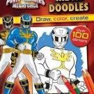 By Parragon Books Power Rangers Megaforce: Mega Doodles