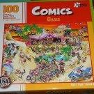 Papercity Puzzles Comics: Oasis