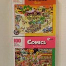"Bundle of Two ""Comics"" 100 Piece Jigsaw Puzzles Including: Las Vegas & Oasis"