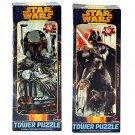 Special Edition Boba Fett & Darth Varder Star Wars Tower Jigsaw Puzzle 2 SET