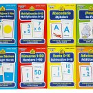 School Zone Spanish English Bilingual Flash Cards 8-Pack