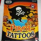 Pirate 35 Temporary Tattoos