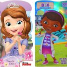 Doc McStuffins & Princess Sofia Super Fun Book to Color With Over 30 Stickers!