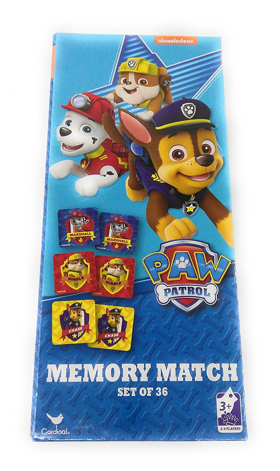 Kids Hot SELLER 8 Piece Nickelodeon Memory Match Game Marshall's Paw Patrol Game