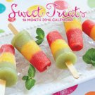 Sweet Treats 2018 Wall Calendar (16-month)