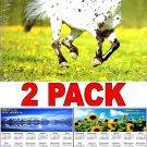 Horses - 16 Month 2018 Wall Calendar Scheduler Organizer + Bonus 2018 Magnetic Calendar