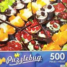 Delicious Miniature Cakes - 500 Piece Jigsaw Puzzle - Puzzlebug - p 002