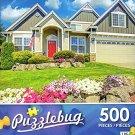 Pretty Grey House - 500 Piece Jigsaw Puzzle - Puzzlebug - p 002