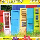 Collections of Colorful old Wooden Doors - 300 Large Pieces Jigsaw Puzzle - Puzzlebug - p 003