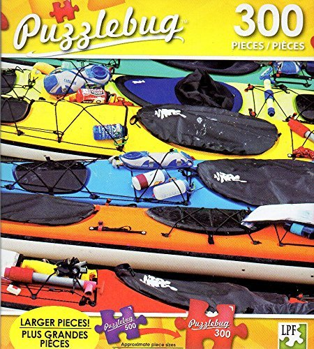Colorful Sea Kayaks, Alaska - 300 Pieces Jigsaw Puzzle - Puzzlebug - p 003