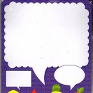 Dry Erase Locker Magnet - Message Board Magnetic / Locker Wallpaper - (Full sheet Magnetic) - v1