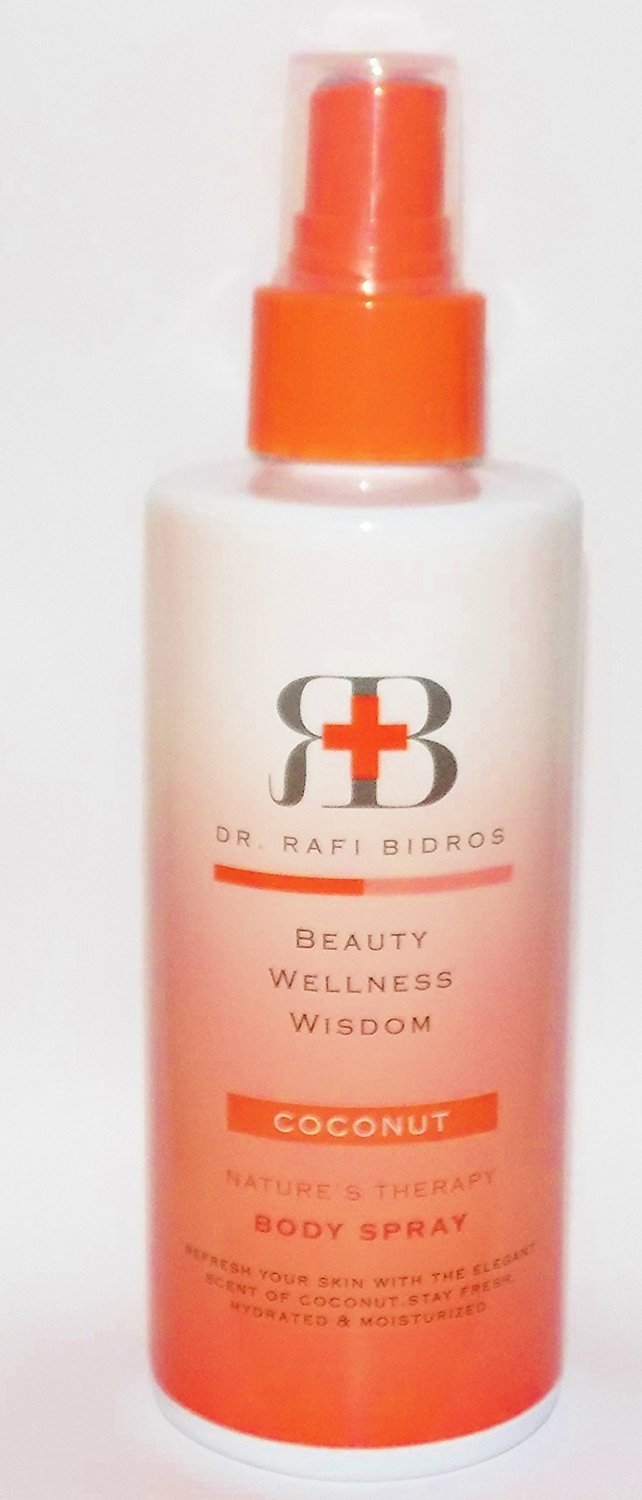 Dr. Rafi Bidros Refreshing Coconut Body Spray