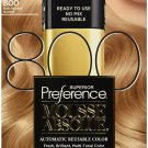 L'Oreal Paris Superior Preference Mousse Absolue, 800 Pure Medium Blonde