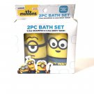 Minion 2 PC Bath Set.2.5 oz Shampoo & 2.5oz body .wosh