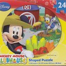 Mickey Shaped Puzzle 24 Piece - Farming with Donald