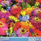 Fresh Summer Market Flowers - Puzzlebug 500 Piece Jigsaw Puzzle by Puzzlebug