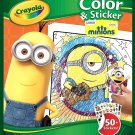 Crayola Color and Sticker Pages - Minions