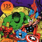 Marvel Comics Stickers Book - 125 Stickers - Halloween Themed