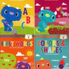 Kindergarten Educational Workbooks - Set of 4 Books - v2