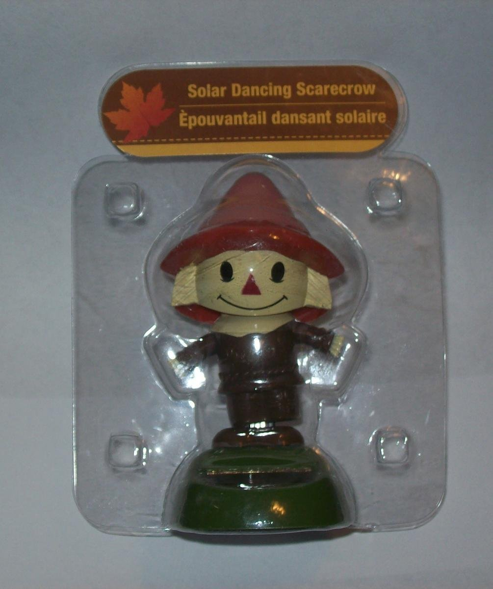 Solar Dancing Scarecrow Brown Outfit