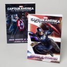 Captain America 96 Page Coloring Book Set of 2
