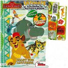 Lion Guard Coloring and Activity Book with 2 Poster, Lion Guard Stickers