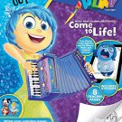 Disney Pixar Inside Out Color and Play Come to Life in 3D Coloring and Activity Book
