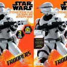 Star Wars Coloring & Activity Book w/ Sticker Scenes - 2 Pack