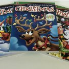 Christmas & Holiday Jumbo Coloring & Activity Book: Set of 3